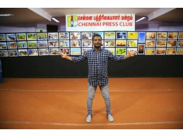 Jackson Herby Photo Exhibition - Chennai Press Club