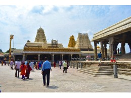 Kanchi Kamakshi Amman Temple - Kanchipuram