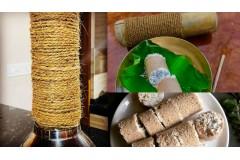 மூங்கில் புட்டு - Bamboo Puttu