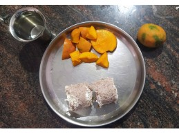 புட்டு + மாம்பழம் ஆஹா.. ஆஹா..