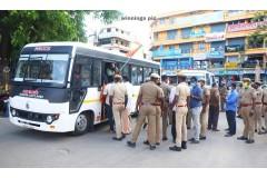 நாகர்கோவில் - பாஜக வினர் ஆர்ப்பாட்டத்தில் ஈடுப்பட்டதால் பரபரப்பு
