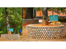 பிளாஸ்டிக் பாட்டில்களை பயன்படுத்தி Eco Brick...