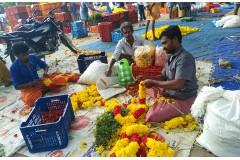 Flower Market, Thovalai