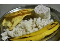 Puttu, Nendran Banana & Papadam
