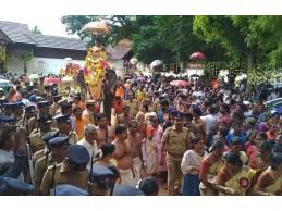 Navratri Festival - Kanyakumari to Thiruvananthapuram