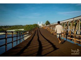 Old Iron Bridge, Manakudy