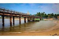 Old Iron Bridge, Manakudy
