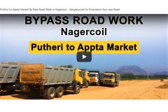 Putheri to Appta Market By Pass Road Work